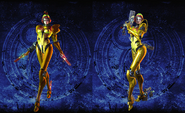 Bayonetta 2 Galactic Bounty Hunter costumes (old hairstyles)