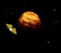 Planet Zebes and Gunship SM.png