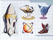 MSR Artbook Missile Battery Missile Varia Suit Space Jump High Jump Boots