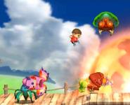 Smash Run Metroid