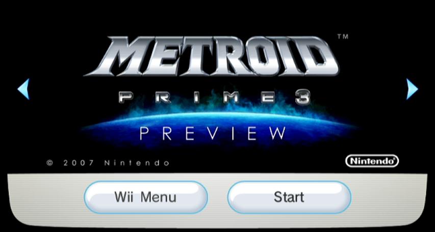 Avance de Metroid Prime 3: Corruption