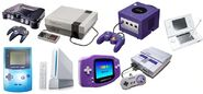 Consoles da Nintendo