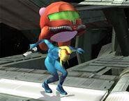 Samus Kirby SSBB