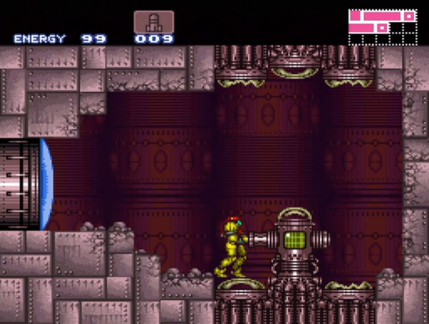 List of rooms in Super Metroid/Crateria