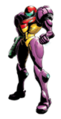 Brawl Sticker Gravity Suit Samus (Metroid Zero Mission)
