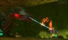Samus Pulls Queen with Grapple Beam MSR