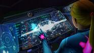 Zero Suit Samus Gunship interior display terminal HD