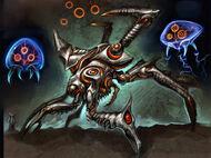 Metroid Prime (personnage) Concept Art