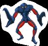 Brawl Sticker Space Pirate (Super Metroid)