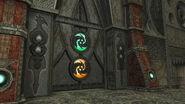 Gateway door