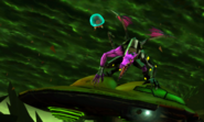 Metroid Samus Returns Proteus Ridley Ridley Returns - The Cunning God of Death Pouncing on Gunship (Cutscene)