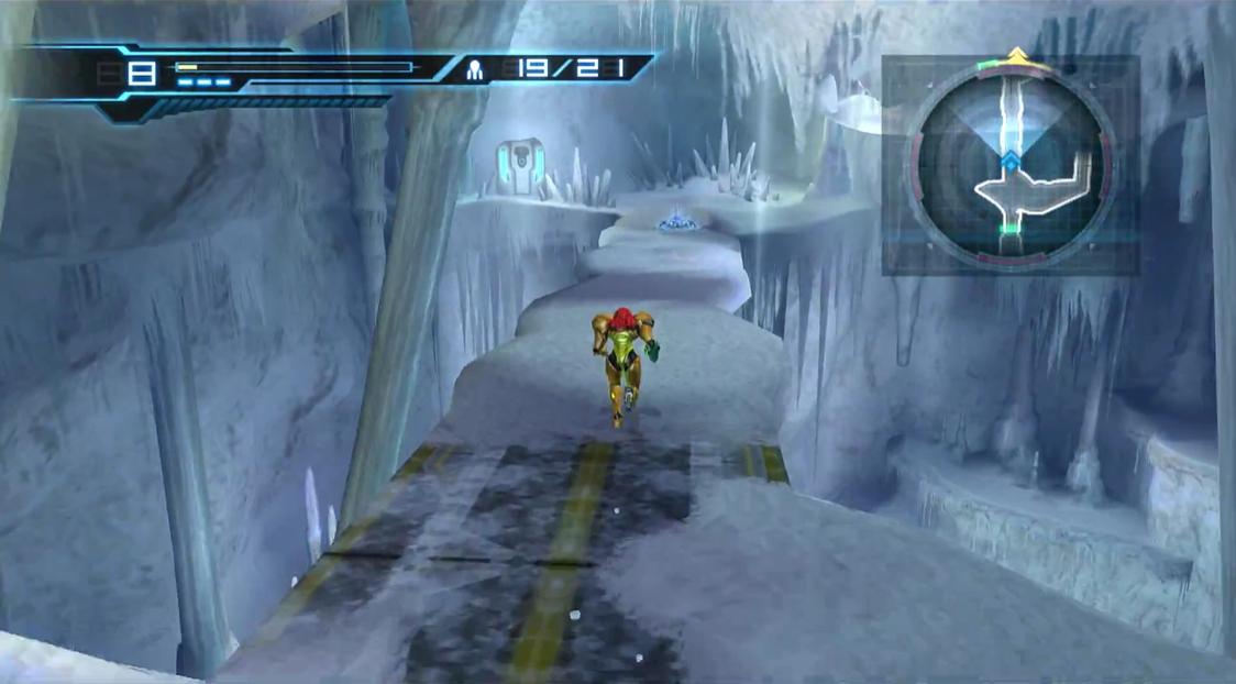 Ice bridge cavern