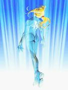 Samus in her Zero Suit