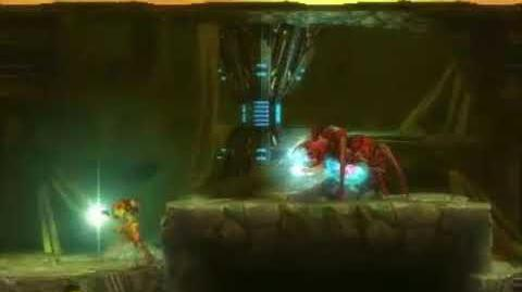 Metroid Samus Returns - Gamma Metroid