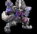 SSB Ultimate Wolf render