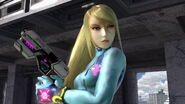 SSB Ultimate Zero Suit Samus closeup