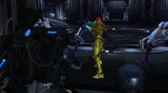 Testing chamber 2 Samus stops soldiers