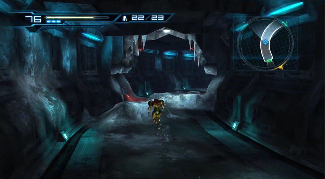 List of rooms in Metroid: Other M/Cryosphere