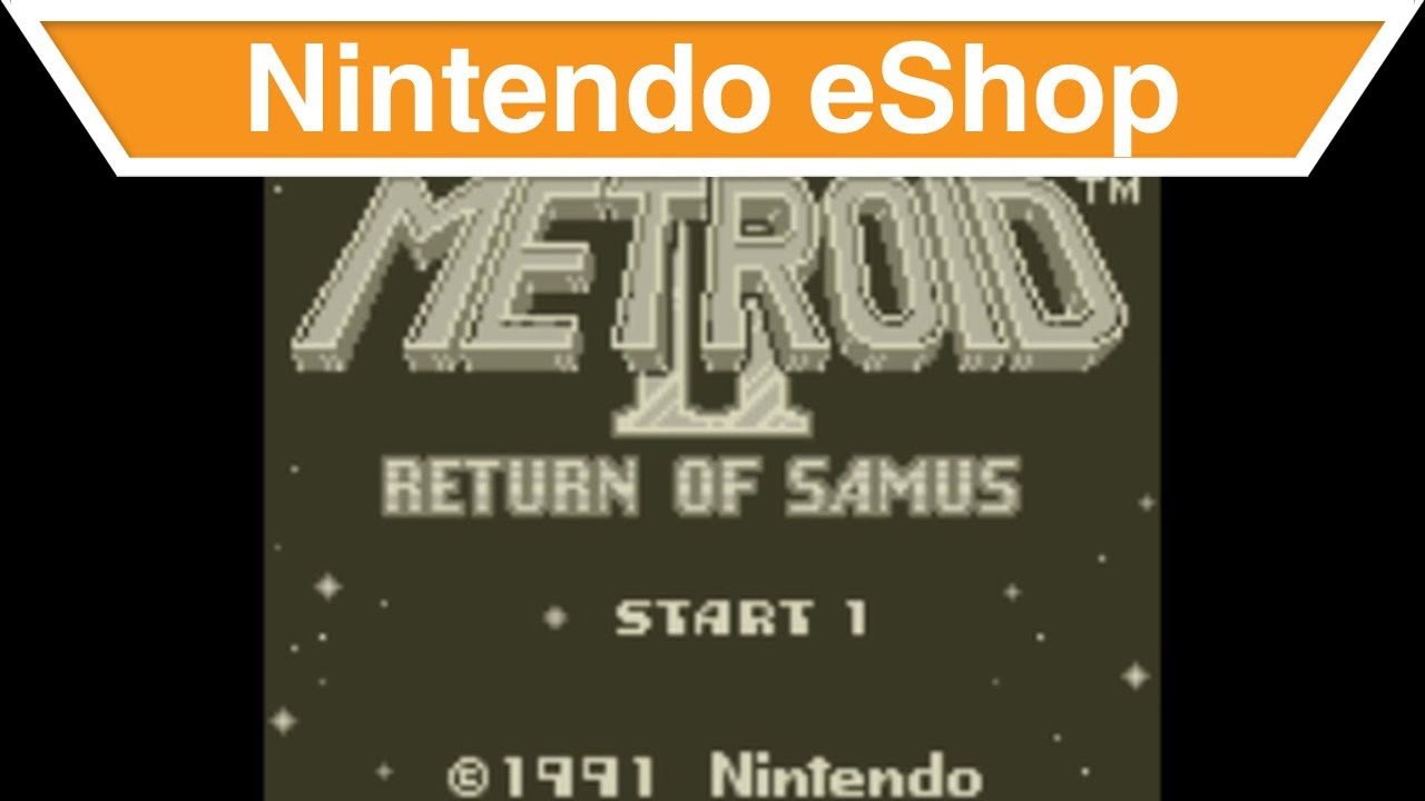 Nintendo eShop - Metroid 2: Return of Samus Trailer
