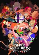 SSBU Inkling character poster