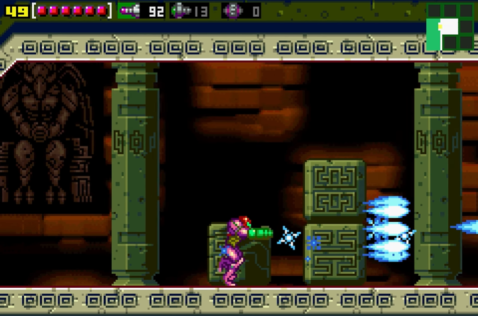 List of rooms in Metroid: Zero Mission/Crateria