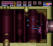 Big Metroid's room entrance
