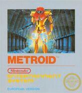 Metroid - European boxart