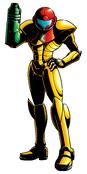 Samus Aran (Super Metroid) Artwork 01