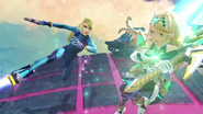 Zero Suit Samus in Pyra and Mythra trailer 5
