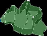 Karte Absturzstelle der Fregatte