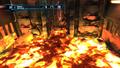 Rhedogian room - lava