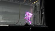 Samus activando la técnica cometa md
