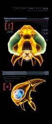 Escaneo del Metroid de Phazon (izquierda) MP3.png
