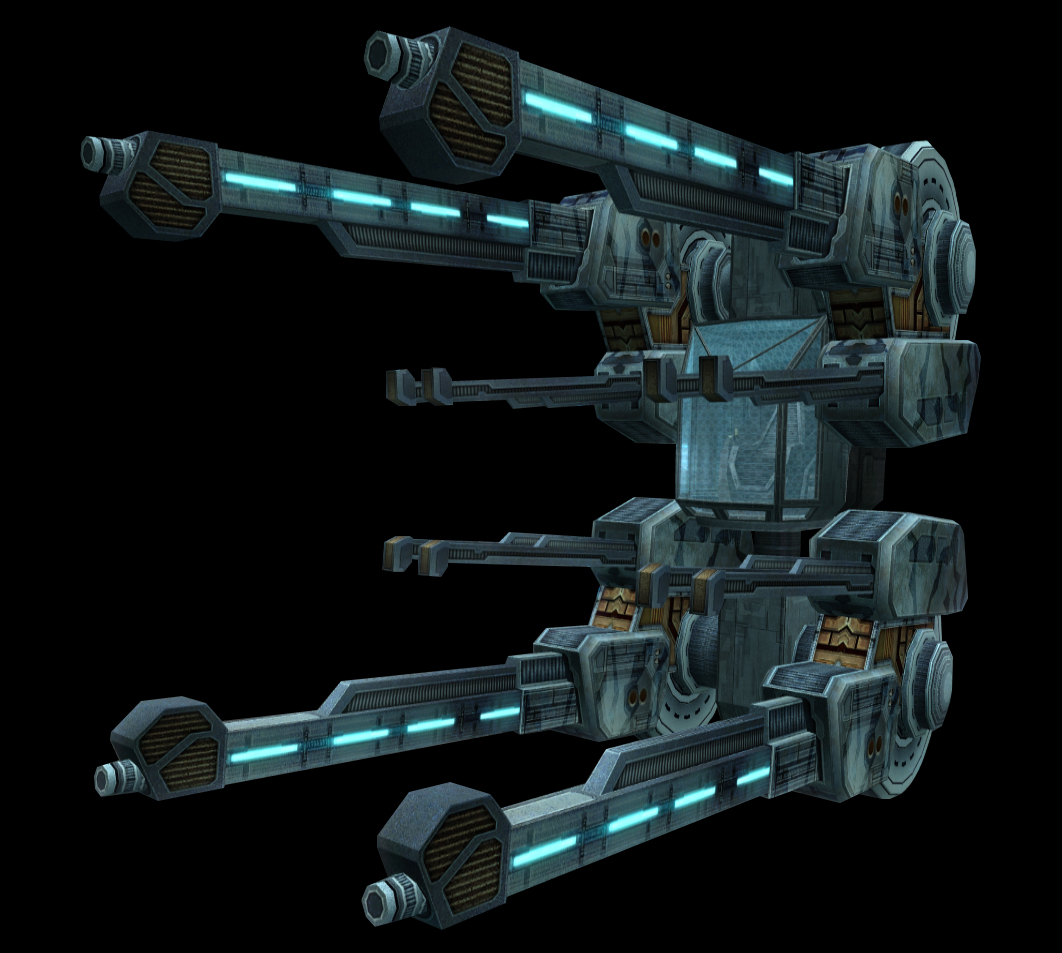 "Mk XIII ""Twin Hydra"" Multiturret"
