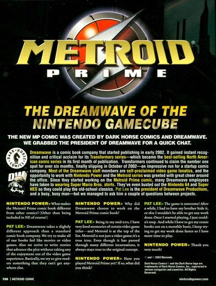 Metroid Prime (cómic)
