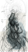 Samus tentacle sketch1