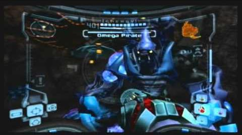 Metroid Prime Omega Pirate Boss Battle