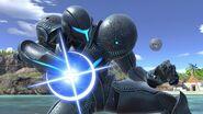 SSB Ultimate Dark Samus cannon glint