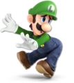 SSB Ultimate Luigi render