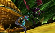 Metroid Samus Returns Proteus Ridley Rescue Baby - Samus Runs After Ridley (Transition Cutscene 1)