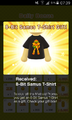 8-Bit Samus T-Shirt Gift