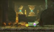 Metroid Samus Returns Arachnus Boss Chamber Spring Ball (Morph Ball Upgrade)