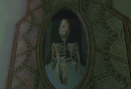 Reptilicus skeleton