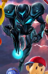 Nintendo Direct Dark Samus panoramic art