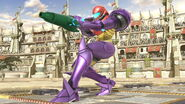 SSB Ultimate Samus gravity suit