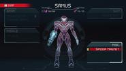 Metroid Dread Samus Screen
