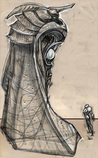 Estatua Luminaria
