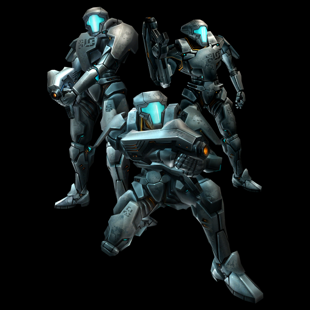 銀河連邦兵士