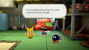 Paper Mario The Origami King Space Warrior Mask Bobby Other M joke