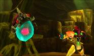 Metroid Samus Returns Metroid (Stage 4) Alpha Metroid (Stunned)
